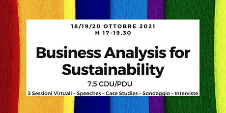 Business Analysis Workshop Italy - BAWI - 2021 (7,5 CDU/PDU!) biglietti