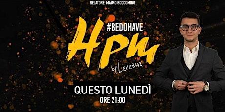 HPM | Mauro Boccomino biglietti