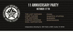 Independence Brewing 11th Anniversary Party
