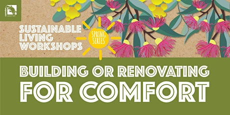 Building or Renovating for Comfort tickets