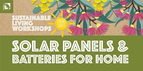 Solar Panels and Batteries for Homes tickets