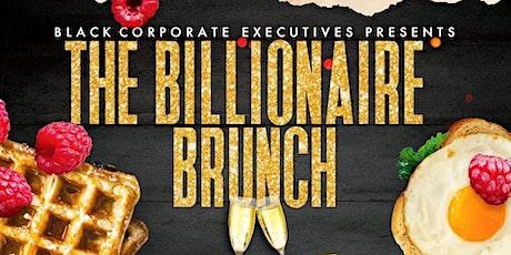 Billionaire Brunch tickets