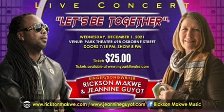 Rickson Makwe & Jeannine Guyot - Let's Be Together tickets