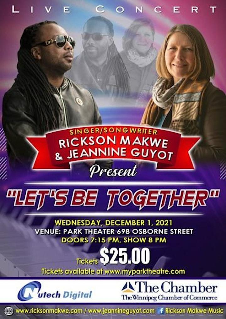 Rickson Makwe & Jeannine Guyot - Let's Be Together image