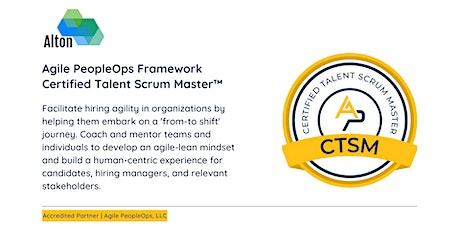 APF Certified Talent Scrum Master™ (APF CTSM™)   Oct 19-20, 2021 tickets