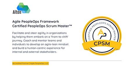 APF Certified PeopleOps Scrum Master™ (APF CPSM™)   Oct 25-26, 2021 tickets