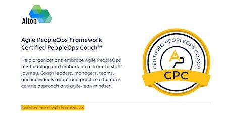 APF Certified PeopleOps Coach™ (APF CPC™)   Oct 28-31, 2021 tickets