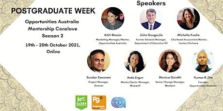 Opportunities Australia Mentorship Conclave Season 2 tickets