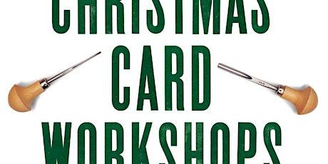 Christmas Card Linocut Workshop in Plymouth, Devon tickets