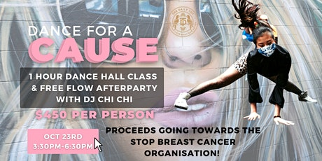DANCE FOR A CAUSE: Dancehall Class, Free Flow & Afterparty tickets