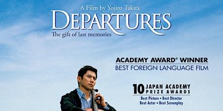 Film screening - Departures tickets