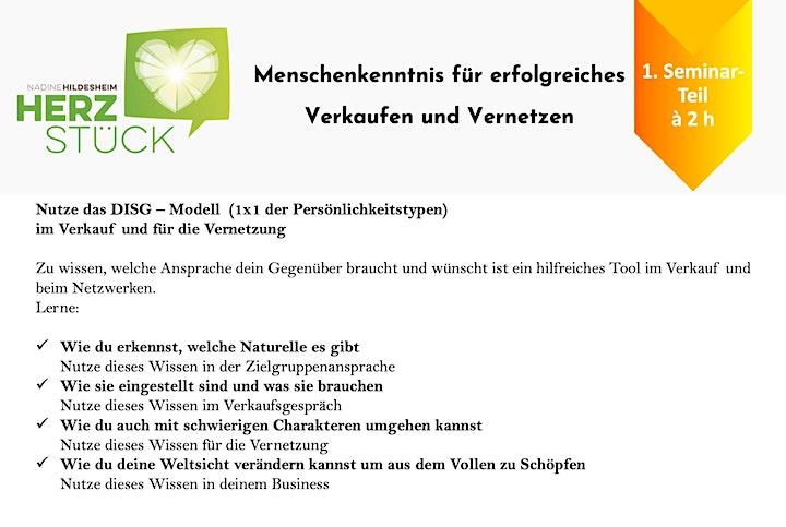 Erfolgreiches Verkaufen & Vernetzen durch Menschenkenntnis -Grundlagen: Bild