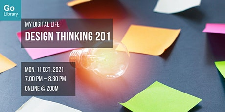 Design Thinking 201   My Digital Life tickets