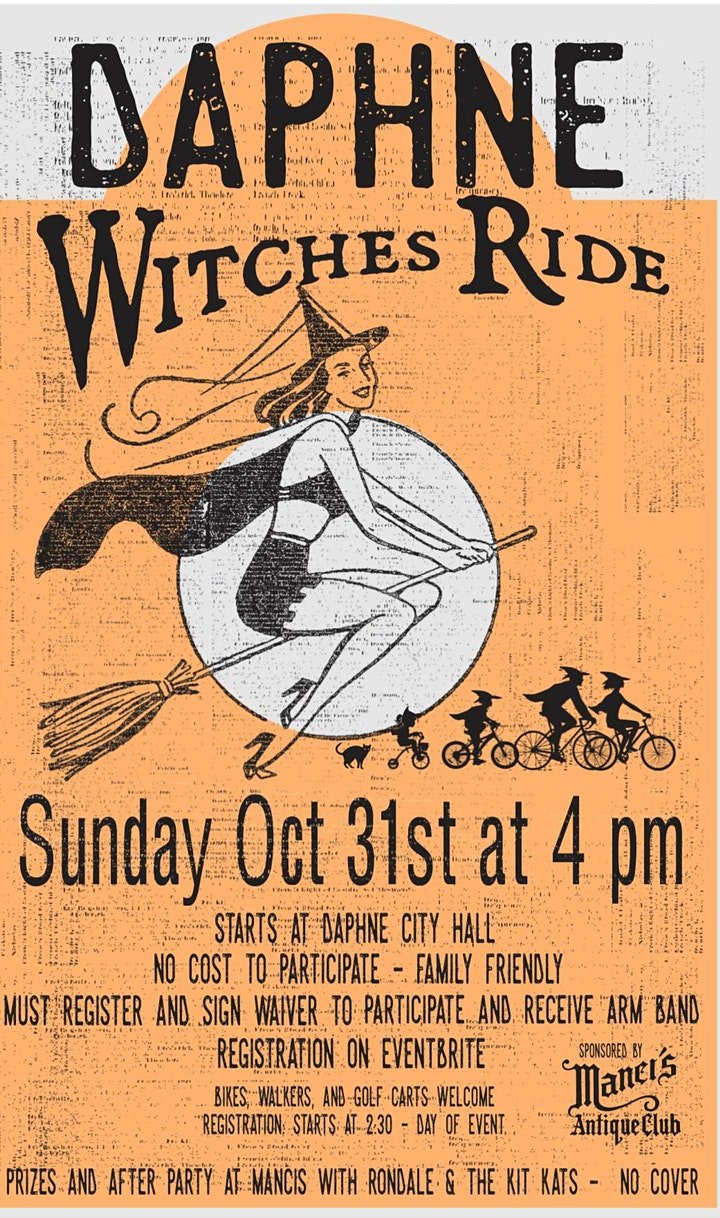 Daphne Witches Ride image