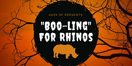 """AAZKSF Presents """"Boo-ling For Rhinos"""" tickets"""