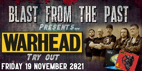 WARHEAD - Try out show (Limited tickets!) billets