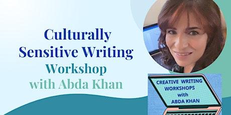 Culturally Sensitive Writing Workshop - 6 November 2021 tickets