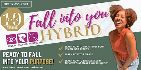 Fall Into You - Hybrid Virtual Event with Life Strategist Rachelle Sylvain tickets
