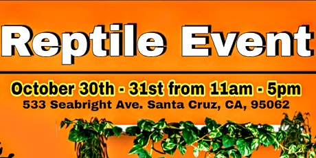 Halloween Reptile Event tickets