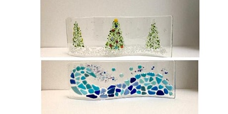 """Fused glass """"Make a Curve"""" workshop tickets"""