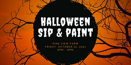 Halloween Sip and Paint tickets