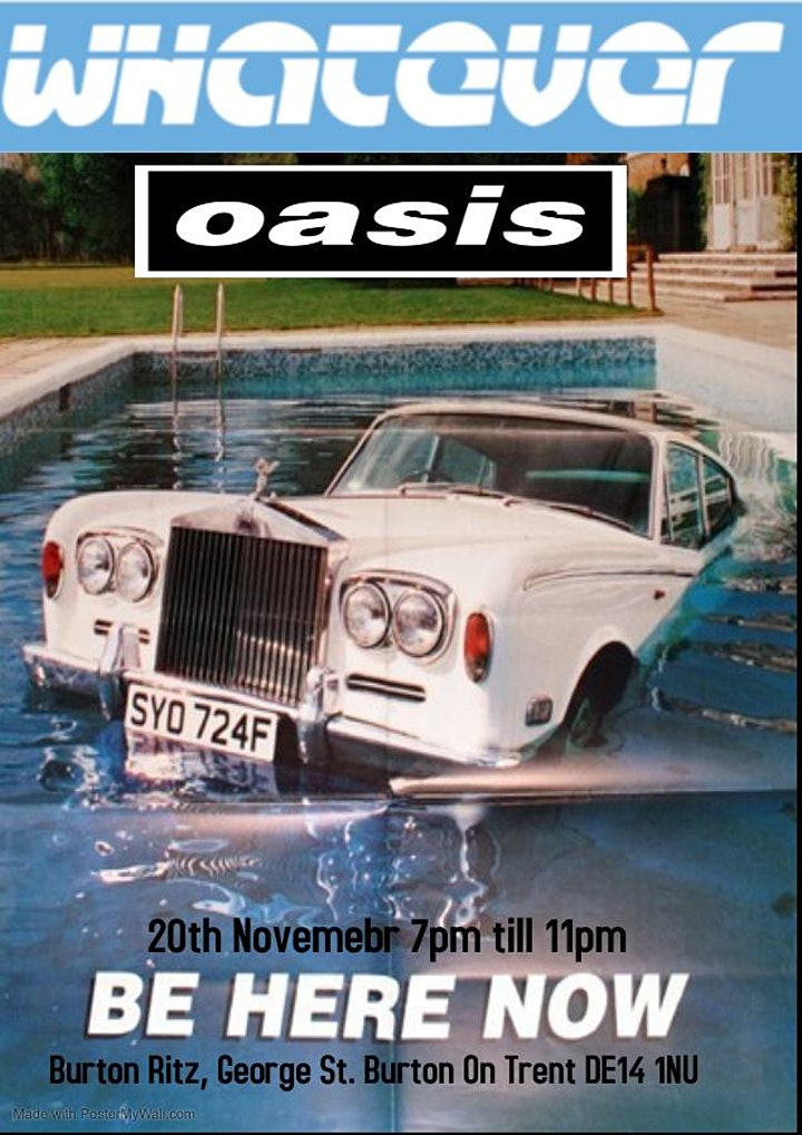 Whatever Oasis Tribute image