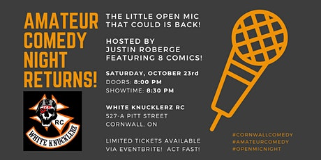 Amateur Comedy Night at the WKRC! tickets