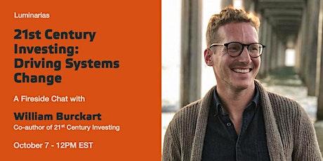 21st Century Investing with William Burckart tickets