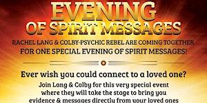Evening of Spirit Messages