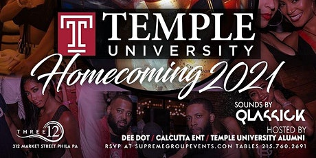 SaturdayNight Live Temple Univ Homecoming 10pm-2am FREE B4 12am w/RSVP tickets