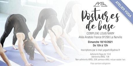Atelier Yoga Postures de base billets