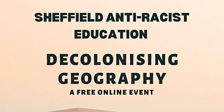 Decolonising Geography tickets