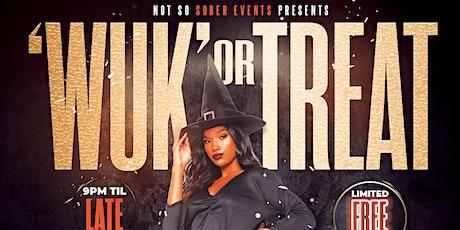 'Wuk' or Treat tickets
