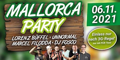 Mallorca Party Remscheid mit Lorenz Büffel & weiteren Stars! Tickets