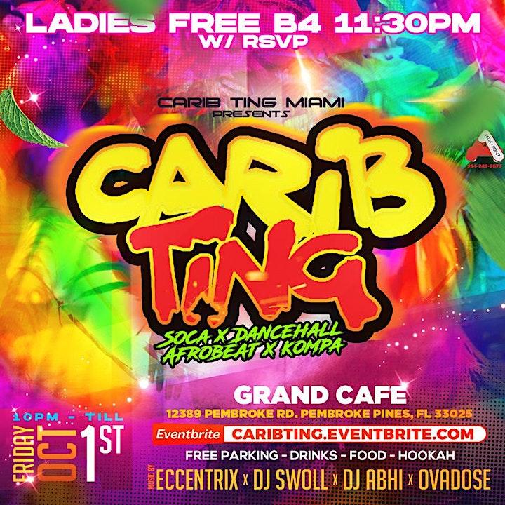 Carib Ting (Every 1st Friday) image