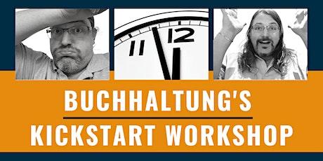 Buchhaltung's Kickstart Workshop - So machst du deine Buchhaltung einfach! Tickets
