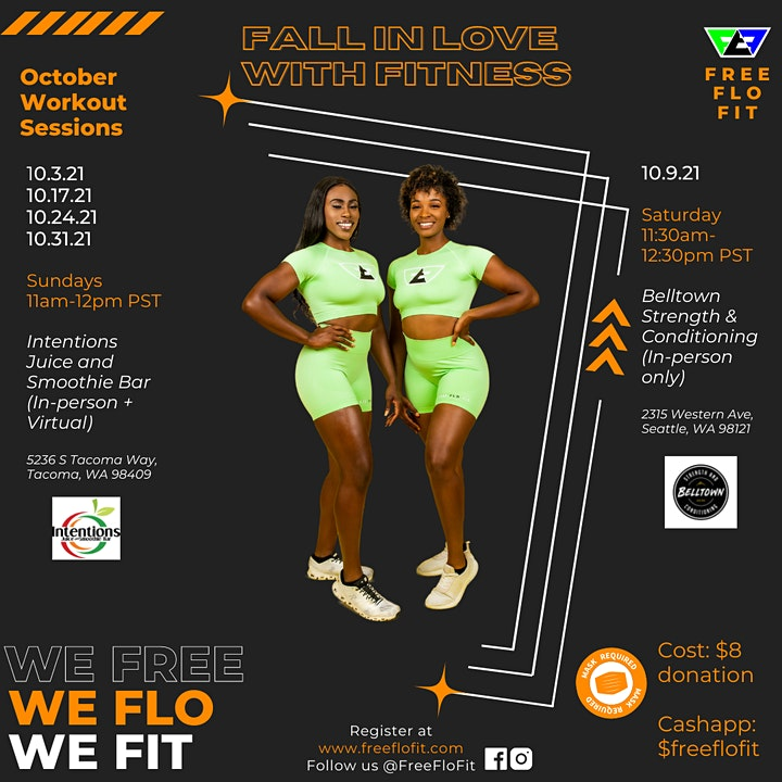 Fall in  love with Fitness with Free Flo Fit image
