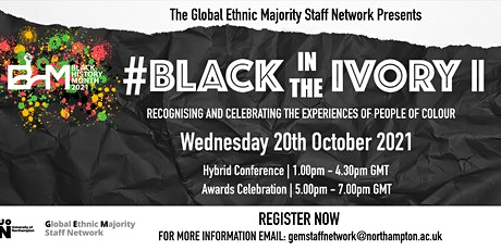 Black in the Ivory II #blackintheivory tickets