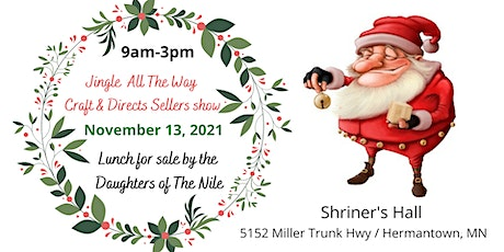 4th Annual Jingle All The Way Craft & Direct Sales Show tickets