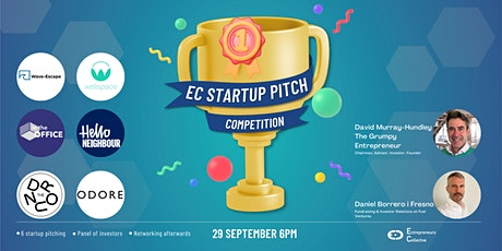 Startup Pitch Competition & Networking with & Angel Investors - September tickets