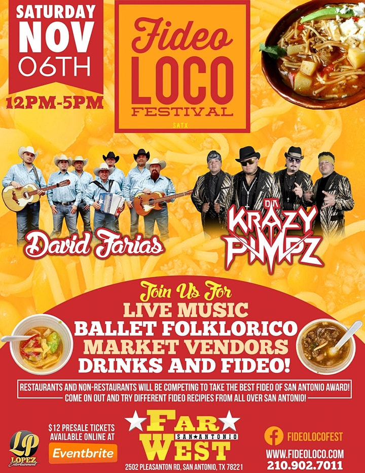 4th Annual Fideo Loco Festival & Cook-Off image