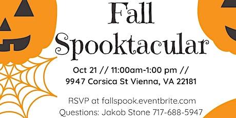 Fall Spooktacular tickets