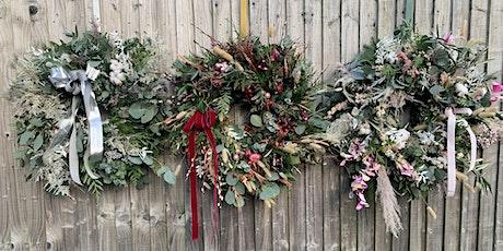 Luxury Christmas Wreath Workshop tickets