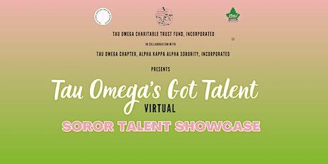 Tau Omega Talent Show tickets