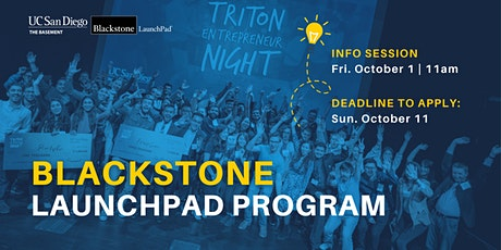 Basement Blackstone LaunchPad Info Session tickets