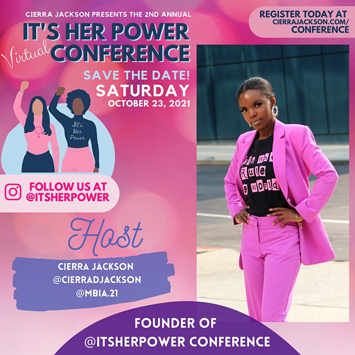 2nd Annual It's Her Power Virtual Conference image