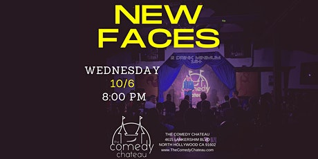 Comedy Chateau presents: New Faces (10/6) tickets