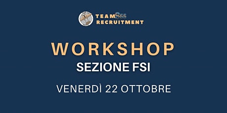 Workshop Analisi Interazione Fluido - Struttura Tickets