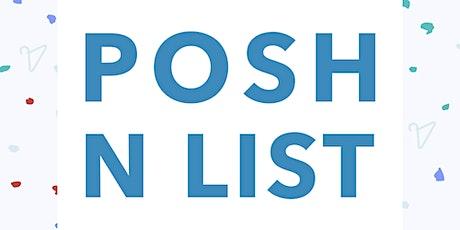 Posh N List tickets
