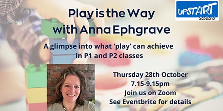 Play is the Way with Anna Ephgrave tickets